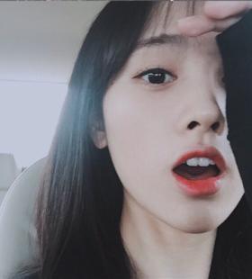鞠婧祎漂亮可爱小清新微信QQ头像图片大全