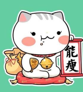 2021热门卡通手绘猫咪动漫头像图片