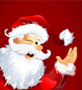 圣诞节高清卡通动漫QQ头像大全