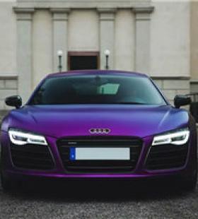 国外炫酷紫色跑车头像12月最火的紫色跑车头像图片