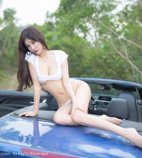 丁字裤美女杨晨晨布带遮胸迷人写真高清图片