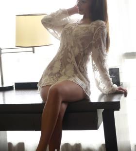 性感美女学生制服诱惑蕾丝镂空裙私房诱惑销魂写真