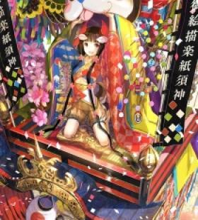 日本古风少女桌面壁纸美图 日本动漫美少女手机壁纸图片