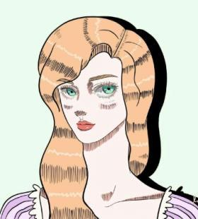 这样的迪士尼公主你见过咩卡通动漫头像