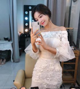 韩国美女模特yoonmida清纯可人街拍唯美图片
