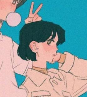 情侣专属的卡通情头图片
