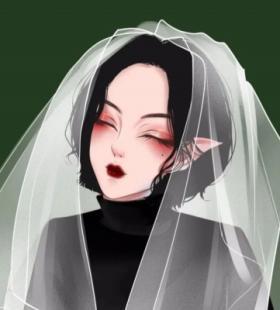 小清新唯美手绘女生头像图库