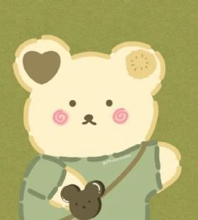 可爱小兔子卡通微信情侣头像图片大全