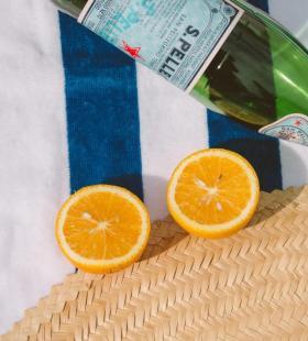 橙子和二锅头夏日清新手机壁纸图片