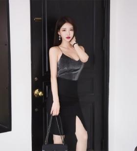 韩国知性美女姐姐酥胸大长腿诱惑写真图片