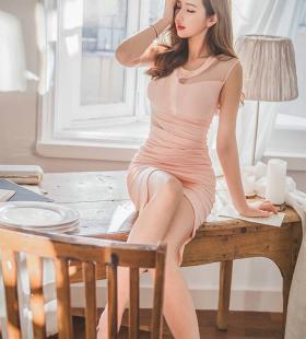 韩国性感娇艳爆乳美女私房娇媚妖娆诱人写真图片