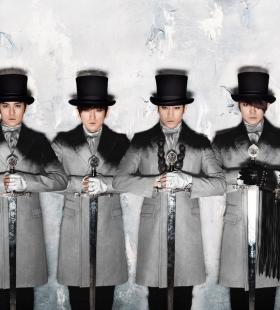 韩国偶像男团高清艺术写真电脑壁纸图片下载