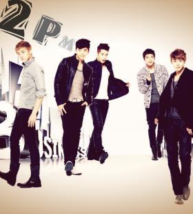 韩国明星组合2PM高清帅气写真图片