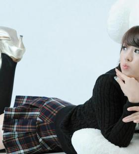 韩国可爱动人的制服美女私房写真大全下载