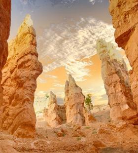 好看沙漠高清风景手机壁纸图片