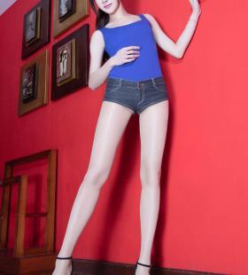 [美腿控]长腿腿模Dora性感肉丝大美女写真 第一辑图片