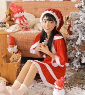 圣诞美女可爱表情高清私房写真图片大全