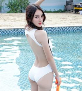 性感泳装美女Cheryl清凉造型诱惑写真图片