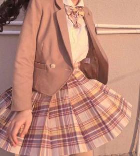 可爱jk制服女生头像图片