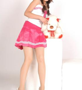 Model肖肖《粉色少女心》[丽柜LIGUI]网络丽人集写真图片