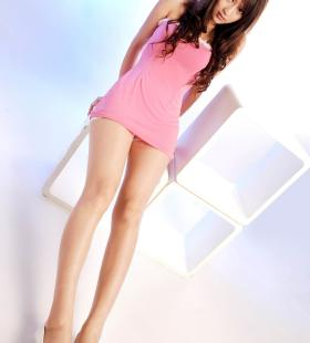 Model饶微《粉红女郎》[丽柜Ligui]集写真图片