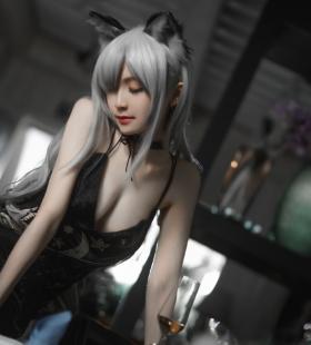 明日方舟cosplay美女性感撩人写真图片