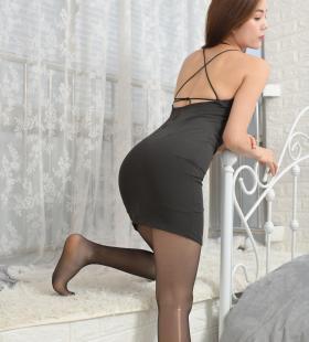 [一千零一夜IESS]模特Lucy《夜店女王3》丝足美腿集写真图片