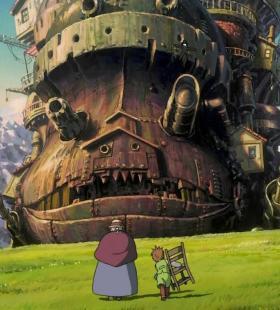《哈尔的移动城堡》超清精美动漫桌面壁纸图片大全
