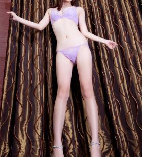 性感女神Nana紫色比基尼诱惑高清写真图片