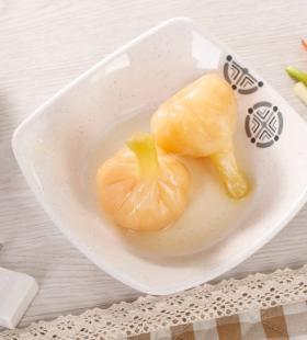 腌制后的大蒜高清美食桌面壁纸图片