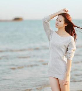第52期tuigirl推女郎长腿美女珍妮性感海边写真图片