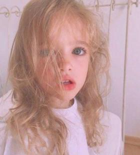 可爱好看的欧美小女孩高清微信头像图片