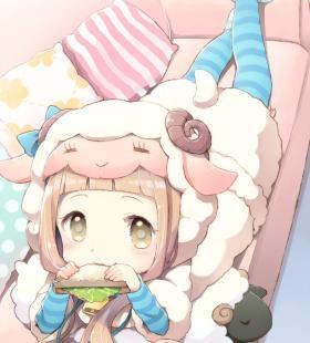 穿布偶服的可爱萝莉动漫幼女美图合集图片