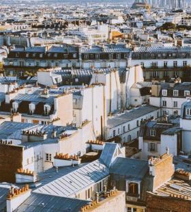 超美航拍城市建筑高清风景壁纸图片