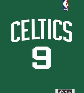 NBA明星球衣标志号码高清手机壁纸图片