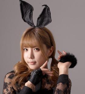 韩国美女许允美兔女郎cos性感迷人写真图片