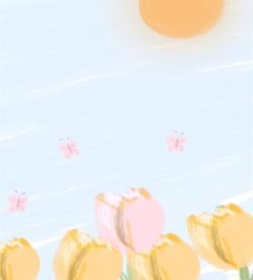 可爱萌系小清新卡通插画手绘高清手机壁纸图片
