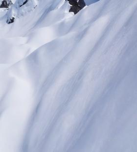 洁白唯美的雪山风景高清手机壁纸美图大全
