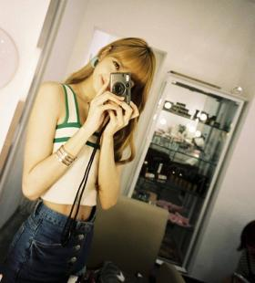 韩国大明星lisa泰国美女写真图片