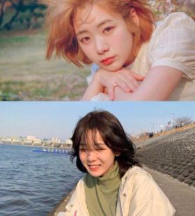 韩国短发美少女Gina氧气女神写真图片