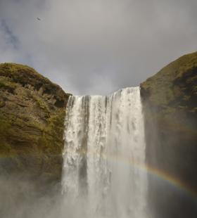 超美瀑布景观唯美风景高清桌面图片壁纸大全
