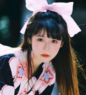 林思韵小清新可爱唯美女生头像图片