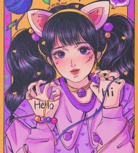 小仙女专用的手绘动漫女生时尚可爱头像图片