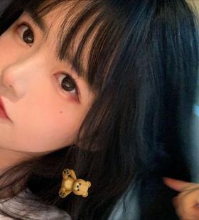 微博博主坂田Tina可爱漂亮女生头像图片