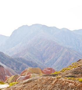 丹霞地貌超美风景高清摄影壁纸大图图片