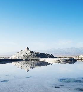 青海茶卡盐湖高清摄影电脑桌面壁纸图片