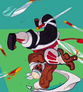 迪士尼风格手绘火影忍者高清手机壁纸图片