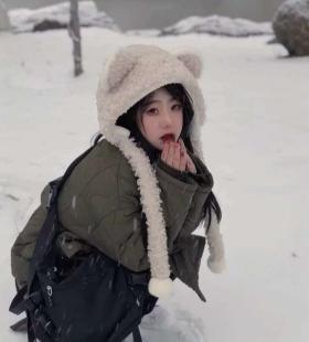冬日限定可爱少女小清新头像图片大全