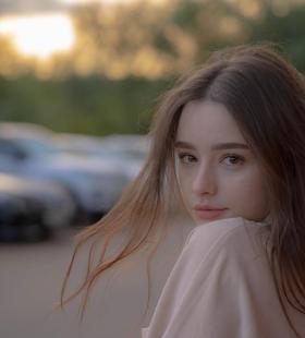 超美俄罗斯模特绝美自拍高清头像图片大全