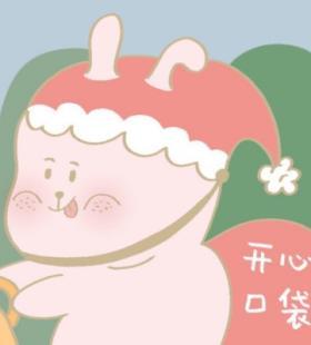 呆萌可爱卡通圣诞主题呆萌微信情侣头像